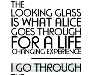 alice in wonderland, Lewis Carroll, and fitness motivation image
