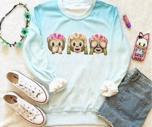 outfit, emoji, and monkey image