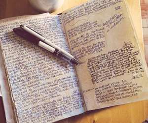 journal, writing, and books image