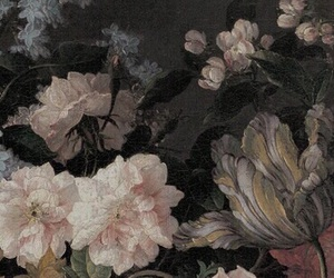 theme, aesthetic, and flowers image