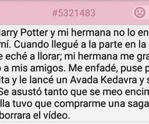 frases, harry potter, and libros image