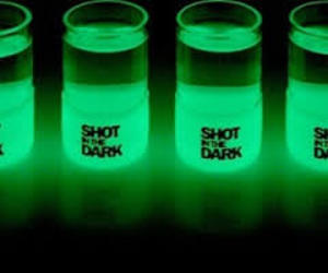 shot, green, and neon image