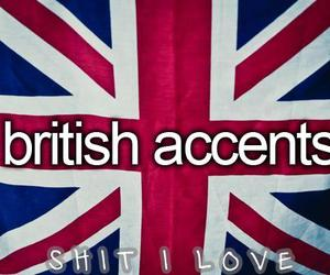 british, accent, and london image