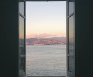 minimal, seaside, and sea image