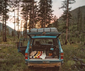 beautiful, camping, and drive image