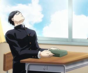 anime, funny, and sakamoto image
