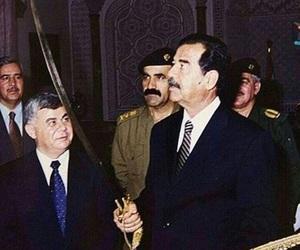 iraq, saddam hussein, and صدام حسين image