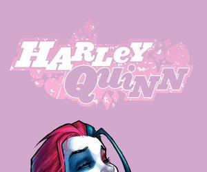 harley quinn, joker, and background image