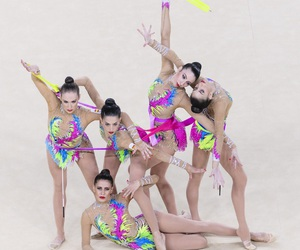 rio 2016, gimnasia ritmica, and juegos olimpicos image