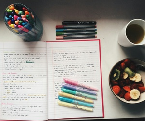 colores, fruta, and study image