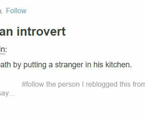 introvert funny food image