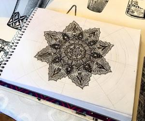 art, black, and details image