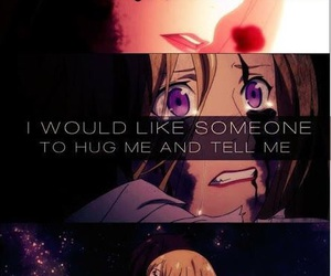 noragami, anime, and cry image