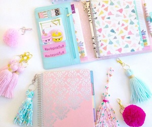 agenda, filofax, and journal image