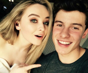 shawn mendes, sabrina carpenter, and shawnmendes image