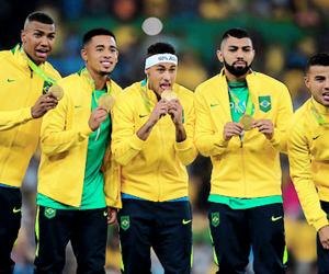 gold, brasil, and brazil image
