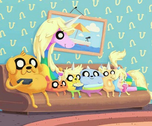 JAKe, adventure time, and family image
