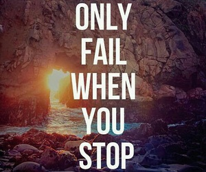 quotes, fail, and motivation image