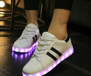 shoes and led image