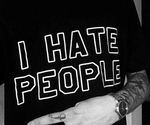 people, hate, and tattoo image