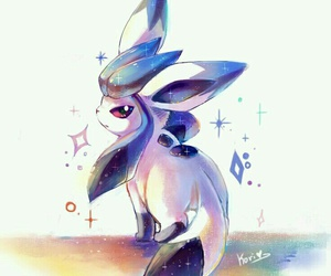 pokemon, glaceon, and cute image