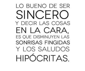 frases, smile, and sincero image