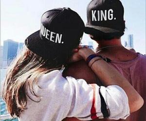 boy, girl, and king image