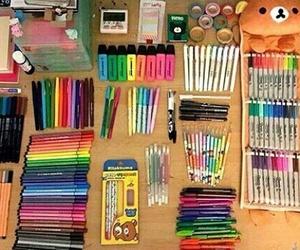 pen, school, and study image