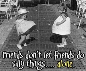 funny, girls, and friends image