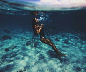 blue, cool, and ocean image