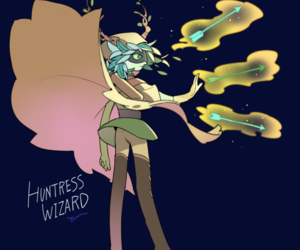 adventure time and huntress wizard image