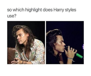 Harry Styles and funny image
