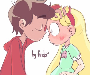star butterfly, marco, and marco diaz image