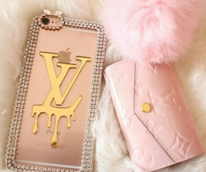 chic, LV, and pink image