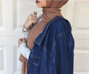 hijab, hijab fashion, and hijâbi image