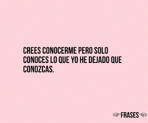 frases, pink, and sad image