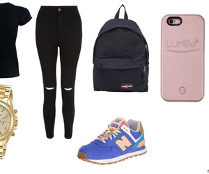 backpack, d, and Polyvore image