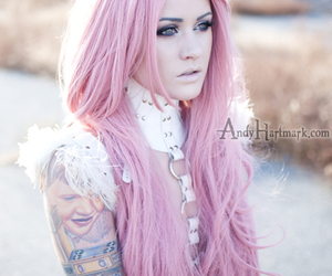 tattoo, pink, and kelly eden image