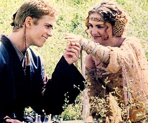 Anakin Skywalker, natalie portman, and star wars image