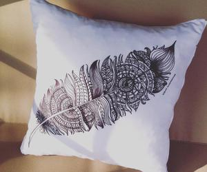 drawing, etsy, and feather image