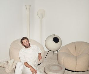 beige and jacquemus image