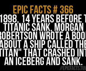 text, epic fact, and tatanic image