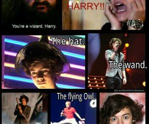 Harry Styles, one direction, and wizard image