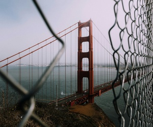 san francisco, travel, and bridge image