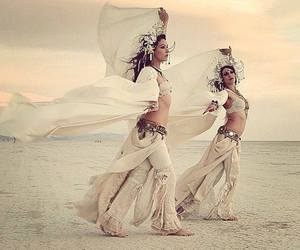 art, belly dance, and dancers image