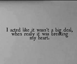 quotes, sad, and heart image