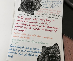 colourful, doodle, and quote image