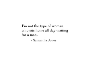 quotes, love, and samantha jones image