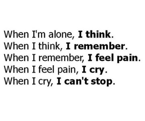 cry, pain, and remember image