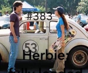 Herbie, lindsay lohan, and movie image